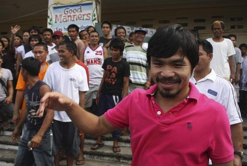 Manny Pacquiao: the boxer congressman
