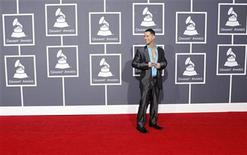 """<p>Mike """"The Situation"""" Sorrentino from the television show """"The Jersey Shore"""" arrives at the 52nd annual Grammy Awards in Los Angeles January 31, 2010. REUTERS/Mario Anzuoni</p>"""