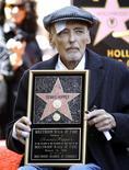 <p>Una immagine di Dennis Hopper sulla Walk of Fame di Hollywood, California, nel marzo scorso. REUTERS/Mario Anzuoni</p>