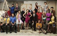 <p>The cast of Bravo Networks new reality competition series 'Work of Art: The Next Great Artist' is shown in this undated publicity photo released to Reuters June 3, 2010. The show, which debuts Wednesday, June 9, pits 14 very different artists against each other in weekly challenges and awards the winner a $100,000 prize and a solo exhibition REUTERS/Bravo/Handout</p>