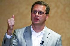 <p>Walmart International's President and CEO Doug McMillon speaks to reporters in Rogers, Arkansas June 3, 2010. REUTERS/Sarah Conard</p>
