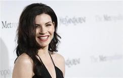 "<p>Actress Julianna Margulies arrives for the Metropolitan Opera premiere of ""Armida"" in New York April 12, 2010. REUTERS/Lucas Jackson</p>"