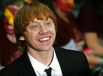 """<p>British actor Rupert Grint arrives for the world premiere of """"Harry Potter and the Half Blood Prince"""" at Leicester Square in London July 7, 2009. REUTERS/Luke MacGregor</p>"""