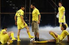 "<p>Actors, ball juggling footballers and dancers from four continents perform in a theatre play called ""Football Football"", which opened in an abandoned factory in the Bosnian capital Sarajevo June 15, 2010, paying tribute to the world's most popular sport just as the World Cup craze kicked off. REUTERS/Danilo Krstanovic</p>"