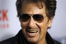 """<p>Cast member Al Pacino arrives for the premiere of the film """"You Don't Know Jack"""" about the life of assisted suicide advocate Jack Kevorkian in New York April 14, 2010. REUTERS/Lucas Jackson</p>"""