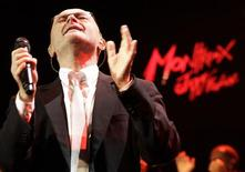 """<p>British singer Phil Collins performs during """"Up Close & Personal: Phil Collins Plays '60s Motown and Soul"""" during the 44th Montreux Jazz Festival in Montreux July 1, 2010. The show will feature his interpretations of the biggest R&B, soul and pop hits of the '60s. REUTERS/Denis Balibouse</p>"""