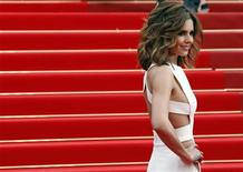 """<p>Singer Cheryl Cole arrives on the red carpet for the screening of """"Hors La Loi"""" (Outside the Law) in competition at the 63rd Cannes Film Festival May 21, 2010. REUTERS/Jean-Paul Pelissier</p>"""