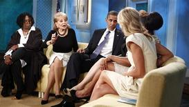 """<p>""""The View"""" costuma atrair entre 3 e 4 milhões de espectadores e é visto especialmente por mulheres. 28/07/2010 REUTERS/Kevin Lamarque</p>"""