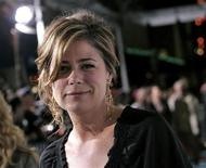 """<p>Cast member Maura Tierney arrives for the premiere of the film """"Semi-Pro"""" at the Mann Village Theater in Los Angeles, February 19, 2008. REUTERS/Danny Moloshok</p>"""