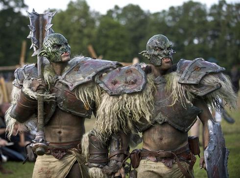Knights vs. Trolls