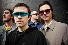 <p>Rock band Weezer poses in this undated publicity photo released on August 10, 2010. REUTERS/Handout/Sean Murphy</p>