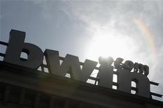 <p>L'opérateur autrichien de sites de jeux d'argent en ligne Bwin a vu son bénéfice d'exploitation chuter de 27% au deuxième trimestre, sous l'effet de dépenses de marketing liées à la Coupe du monde de football et au lancement de son site français. /Photo d'archives/REUTERS/Heinz-Peter Bader</p>