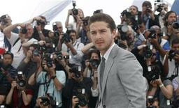 "<p>Cast member Shia LaBeouf poses during a photocall for the film ""Wall Street - Money never sleeps"" by U.S. director Oliver Stone during the 63rd Cannes Film Festival in Cannes May 14, 2010. REUTERS/Eric Gaillard</p>"