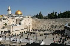 <p>A view of the Western Wall, Judaism's holiest prayer site, and the Dome of the Rock, on the left, in the Old City of Jerusalem, in a file photo. REUTERS/Ammar Awad</p>