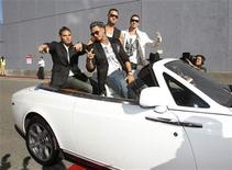 <p>The cast of 'Jersey Shore' arrive at the 2010 MTV Movie Awards in Los Angeles June 6, 2010. REUTERS/Mario Anzuoni</p>