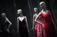 """<p>Dresses are seen as part of an upcoming exhibition, """"Notorious and Notable: Twentieth Century Women of Style"""" at the Museum of New York September 8, 2010. TREUTERS/Eric Thayer</p>"""