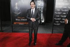 """<p>Director Oliver Stone arrives for the premiere of the film """"Wall Street: Money Never Sleeps"""" in New York September 20, 2010. REUTERS/Lucas Jackson</p>"""