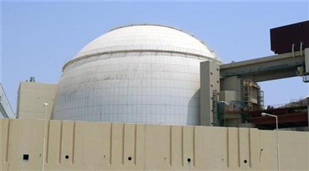 A general view of the Bushehr main nuclear reactor, 1,200 km (746 miles) south of Tehran, August 21, 2010. REUTERS/Raheb Homavandi