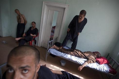 Kabul's drug rehab