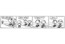 <p>The first Peanuts comic strip is seen in a handout image. REUTERS/©2010 Peanuts Worldwide LLC/Handout</p>