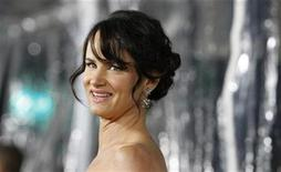 """<p>Cast member Juliette Lewis poses at the premiere of """"Conviction"""" at the Samuel Goldwyn theatre in Beverly Hills, California October 5, 2010. REUTERS/Mario Anzuoni</p>"""