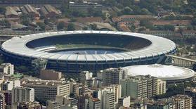 <p>BNDES aprovou financiamento de R$400 mi para reforma do Maracanã para a Copa do Mundo de 2014. REUTERS/Bruno Domingos</p>