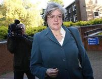 <p>Mary Bale arrives at Coventry Magistrates Court in central England October 19, 2010. REUTERS/Darren Staples</p>