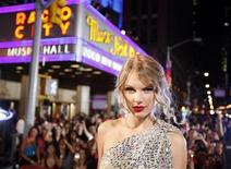 <p>Taylor Swift arrives at the 2009 MTV Video Music Awards in New York, September 13, 2009. REUTERS/Lucas Jackson</p>