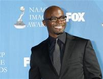 """<p>Taye Diggs, star of the television series """"Private Practice,"""" arrives at the 39th Annual NAACP Image Awards in Los Angeles, California February 14, 2008. REUTERS/Fred Prouser</p>"""