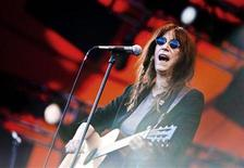 <p>Rock poetess Patti Smith performs at the Roskilde Festival, 30 km (18 miles) west of Copenhagen July 1, 2010. REUTERS/Jonas Vandall Ortvig/Scanpix</p>