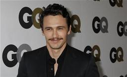 """<p>James Franco arrives at the GQ Magazine 2010 """"Men of the Year"""" party where he was honoured as one of the """"Men of the Year"""" in Hollywood, California, November 17, 2010. REUTERS/Fred Prouser</p>"""