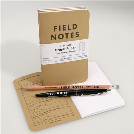 Field Notes creates demand for nostalgic notepads
