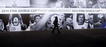 <p>Fifa inicia reunião histórica sobre Copas de 2018 e 2022: resultado sai nesta quinta-feira. REUTERS/Arnd Wiegmann</p>