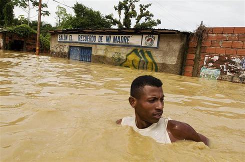 Rains ravage Venezuela