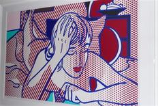 """<p>The Lichtenstein artwork """"Thinking Nude"""" image is shown as released by the New York City Police Department to Reuters on December 24, 2010. REUTERS/The New York City Police Department/Handout</p>"""