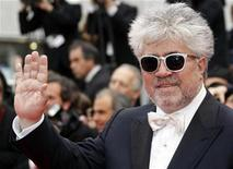"<p>Director Pedro Almodovar arrives on the red carpet for the screening of the film ""You Will Meet A Tall Dark Stranger"" by director Woody Allen at the 63rd Cannes Film Festival May 15, 2010. REUTERS/Jean-Paul Pelissier</p>"