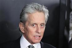 "<p>Actor and cast member Michael Douglas arrives for the premiere of the film ""Wall Street: Money Never Sleeps"" in New York September 20, 2010. REUTERS/Lucas Jackson</p>"