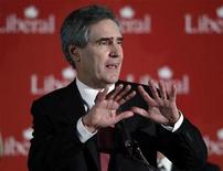 <p>Canada's Liberal Leader Michael Ignatieff speaks during the Liberal caucus Christmas Party in Ottawa December 15, 2010. REUTERS/Blair Gable</p>