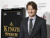 """<p>Director Tom Hooper poses at a screening of his film """"The King's Speech"""" at the Grauman's Chinese theatre in Hollywood, California November 5, 2010. REUTERS/Mario Anzuoni</p>"""