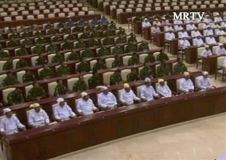 As Myanmar parliament opens, junta's shadow looms large