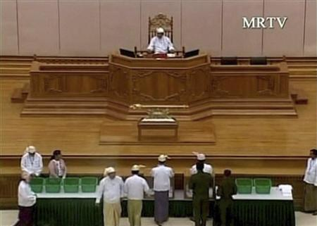 As Myanmar parliament opens, junta's shadow looms large