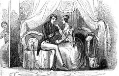 """<p>A copy of a cartoon shows """"Boy Jones"""", the stalker of Britain's Queen Victoria spying on her in this illustration, published in 19th century newspapers and released in London February 2, 2011. REUTERS/Amberley Publishing/Jan Bondeson/Handout</p>"""