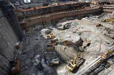 <p>A general view of a portion of the World Trade Center site in New York June 25, 2008. REUTERS/Mike Segar</p>