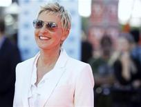 <p>Judge Ellen DeGeneres arrives for the 9th season finale of 'American Idol' in Los Angeles May 26, 2010. REUTERS/Mario Anzuoni</p>