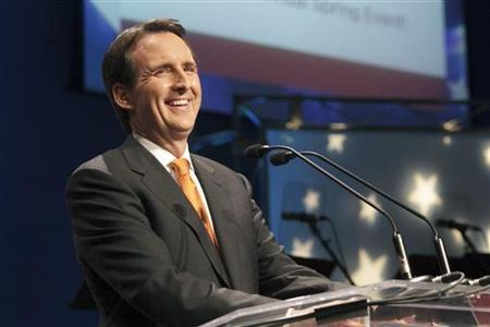 Former Minnesota Governor Tim Pawlenty speaks during the Iowa Faith & Freedom Coalition's Spring Event at Point of Grace Church in Waukee, Iowa March 7, 2011. REUTERS/Brian C. Frank