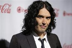 <p>Russell Brand, CinemaCon Comedy Star of the Year, poses during CinemaCon, the official convention of the National Association of Theatre Owners, in Las Vegas, Nevada March 31, 2011. REUTERS/Steve Marcus</p>