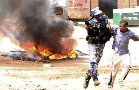 Protests in Uganda