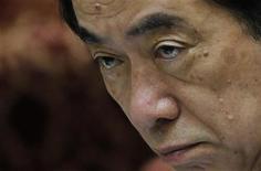<p>Премьер-министр Японии Наото Кан на специальном заседании в нижней палате парламента в Токио 31 мая 2011 года. Оппоненты внутри партии премьер-министра Японии Наото Кана потребовали его отставки, пригрозив поддержать вотум недоверия правительству, инициированный оппозицией. REUTERS/Yuriko Nakao</p>