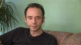 <p>A still image provided by KPIX TV and taken from the broadcaster's video footage shows Timothy Ray Brown during an interview at his home in San Francisco. Timothy Ray Brown, was a young HIV-positive American living and working in Berlin who had developed leukaemia and suffered a relapse after initial treatment. REUTERS/Courtesy KPIX TV/Handout</p>