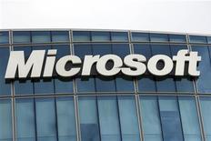 <p>Офис Microsoft Corporation в Исси-ле-Мулино возле Парижа 6 октября 2009 года. Microsoft Corp продемонстрировала новую операционную систему на hi-tech конференциях в США и Тайване в среду. REUTERS/Charles Platiau</p>